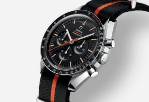 The 42 mm replica Omega Speedmaster SpeedyTuesday 311.12.42.30.01.001 watches have black dials.
