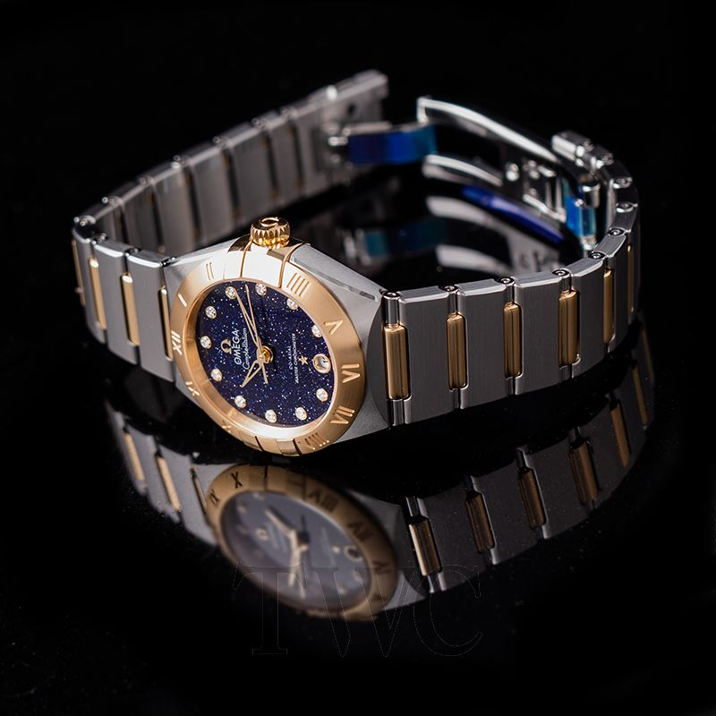 The Omega Constellation in 29 mm is good choice for women.
